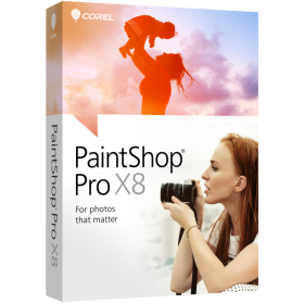 PaintShop Pro X8 Corporate Edition License