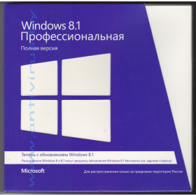 Windows Pro 8.1 32-bit/64-bit RUS [FQC-07350]