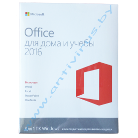 Office Home and Student 2016 32/64bit  Russian