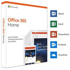 Office 365 Home 32/64 AllLngSub PKLic 1YR Online CEE C2R NR